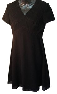 Liz Claiborne short dress black Size 6 Cocktail on Tradesy