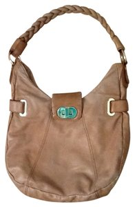 Badgley Mischka Designer Braided Hobo Bag