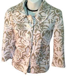 Worthington Spring Crop Tan Light Tauepe Jacket