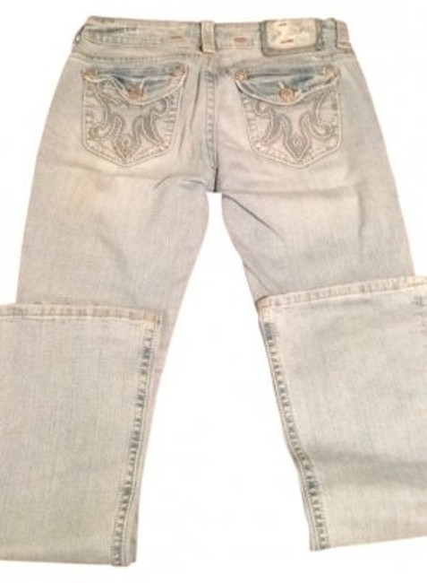 MEK DNM Boot Cut Jeans-Light Wash