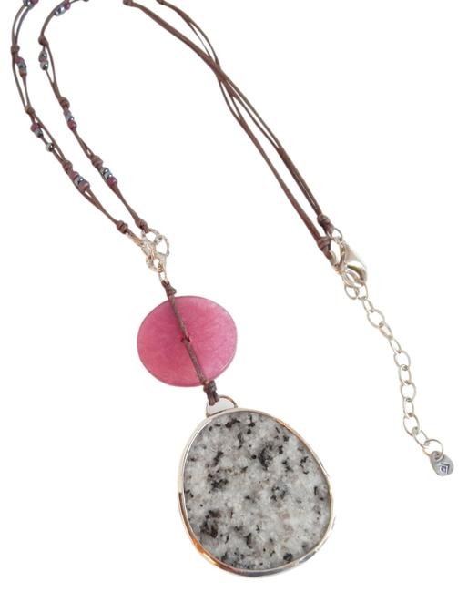 Item - Rose Box W Retired Vignetta Sterling Silver Raspberry Quartzite Marble New N2229 W/ Gift Necklace