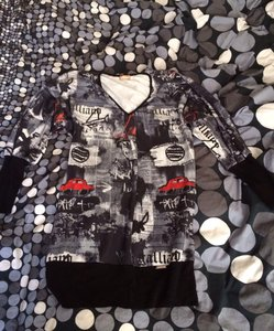 John Galliano Gazette Rhinestones Sweater
