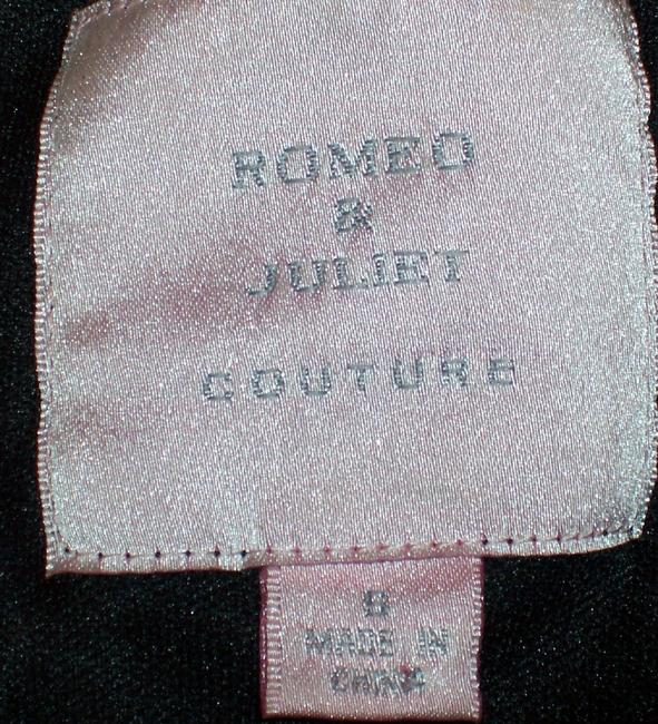 Romeo & Juliet Couture Sequin Top Black