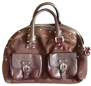 Dolce&Gabbana Satchel in Brown and Bordeaux