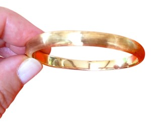 Unknown Gorgeous 18K gold child's bangle/small wrist, from Capri, with current appraisal.