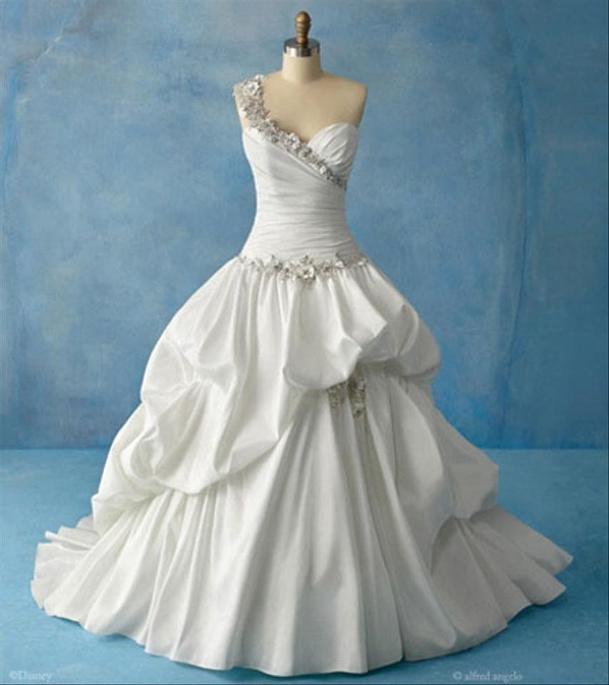 Alfred Angelo White Tiana 204 Disney Princess Feminine Wedding Dress ...