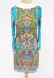 Muse short dress Multi-Color Multi Colored Floral on Tradesy