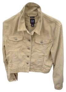 Gap Khaki Womens Jean Jacket