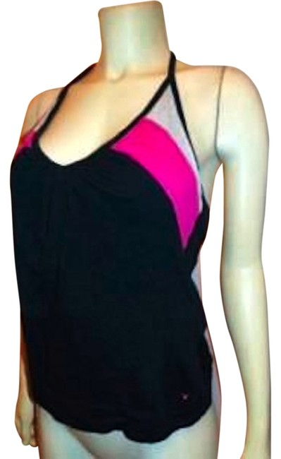 American Eagle Outfitters Size Medium P154 Halter NAVY, PINK, WHITE Halter Top