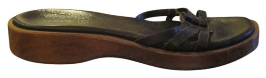 J.Crew Leather Brown Sandals