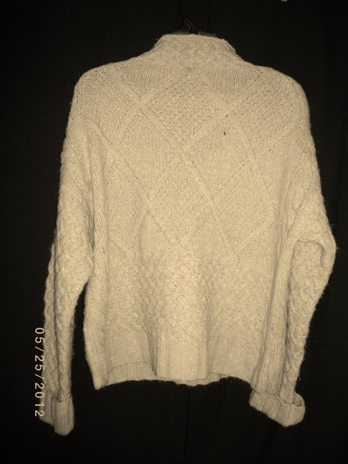 Express Crosshatch Chunky Sweater