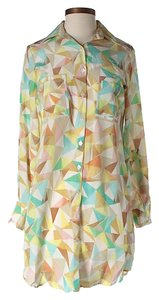 Hutch short dress Silk Shirt Print on Tradesy