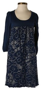 Splendid short dress Blue Floral on Tradesy