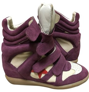 Isabel Marant Red Bayley Over Basket purple Athletic