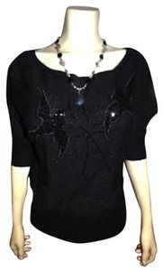 bebe P147 Size Small Top BLACK