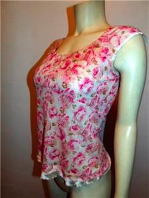 Banana Republic Small P565 Size Top PINK IVORY