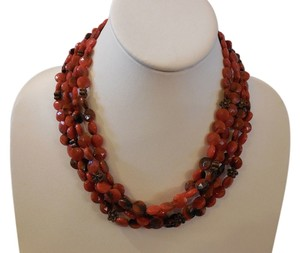 Gorgeous Multi-Strand Beaded Necklace