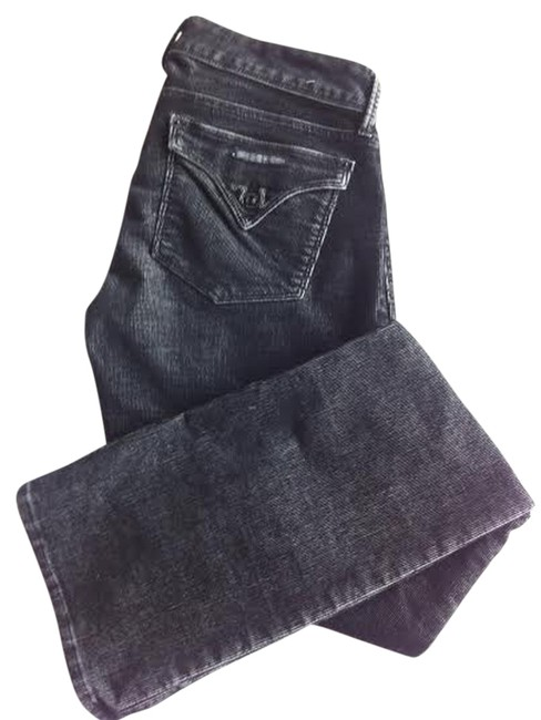 Hudson Made In Usa Corduroy Baby Baby Cut Boot Cut Jeans-Dark Rinse
