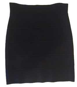 BCBGMAXAZRIA Mini Skirt Blac