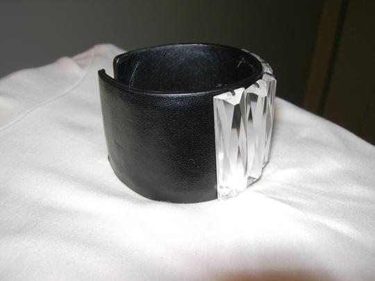 Sigal Black Leather with crystals by Sigal