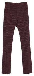 Zara Bell Flare Pants Red Navy