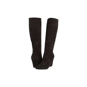 Via Spiga Wedge Black Boots
