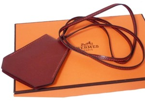 Hermès Hermes Clochette Leather Key Ring With Box