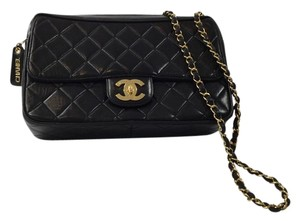 Chanel Vintage Quilted Leather Shoulder Bag