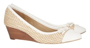 Tory Burch NATURAL IVORY Wedges