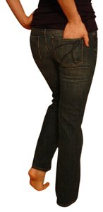 New York & Company Low Rise Boot Cut Jeans-Medium Wash