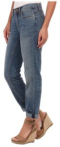 Henry & Belle Slouchy Tapered Cropped Boyfriend Cut Jeans-Light Wash