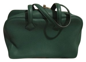 Hermès Satchel in Malachite