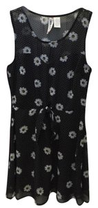 Mimi Chica short dress Black Floral on Tradesy