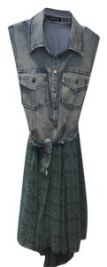 Do & Be short dress Denim Western Hi Lo Texas Cowgirl on Tradesy