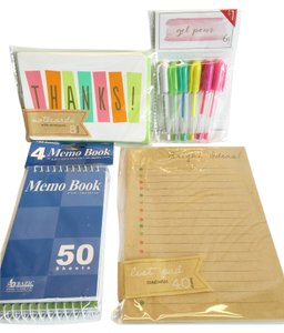 Other Children's Stationery Set; Pastel Rainbow Gel Pens, Stationery, Parchment
