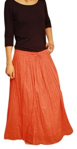 Studio West Maxi Skirt Coral
