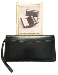 Travelers Document Case by Leatherways [ Roxanne Anjou Closet ]