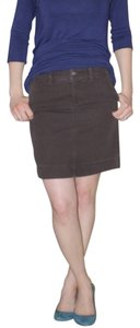 Eastern Mountain Sports Mini Skirt Brown