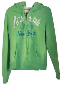 Aéropostale Zip Up Zipper Fleece Sweatshirt