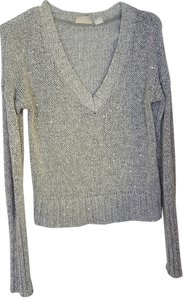 Mudd Crop Cropped Sequin Sweater