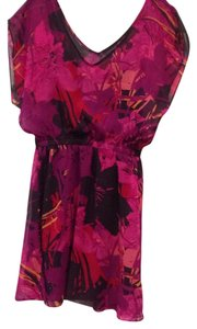 Express short dress Pink, purple, red, magenta, yellow, fuschia on Tradesy