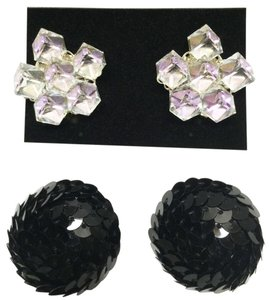 Other Vintage Earring Duo (Clip / Non-Pierced) [ Roxanne Anjou Closet ]