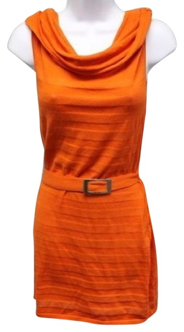 White + Warren short dress Orange on Tradesy