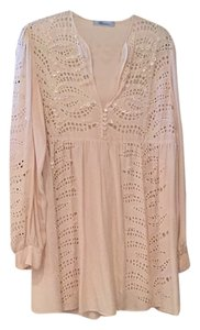 Blumarine short dress Ivory on Tradesy