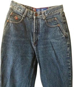 POSTED Denim Straight Leg Jeans-Medium Wash