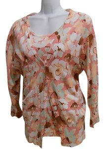 George Extra Large 16 18 Floral Sweater