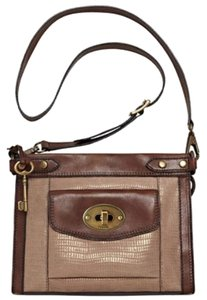 Fossil Vintage Revival Convertible Cross Body Bag