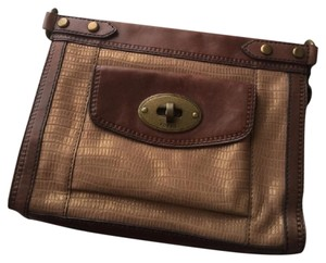 Fossil Vintage Revival Zb5445 Vintage Reissue Brown Clutch