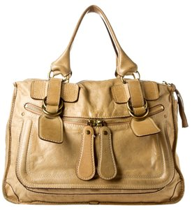 Chloé Chloe Leather Bay Satchel Shoulder Bag