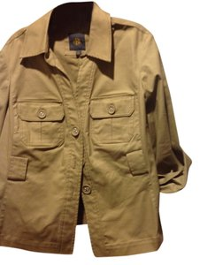 Outback Red The Limited In Store Brand Safari Style Beige Blazer